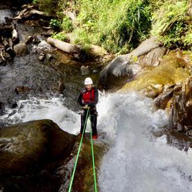 Baños, Ecuador: canyoning en raften