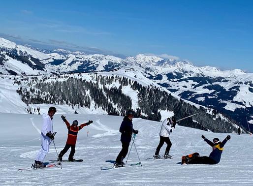 Als het te hard waait om te skiën