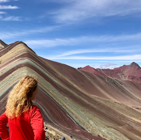 Rainbow Mountain, Peru: een berg die je de adem beneemt