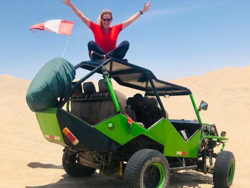 Peru: buggy rijden in de zandduinen Huacachina