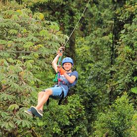 Costa Rica: Ziplinen in Monteverde Cloud Forest