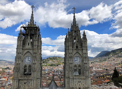 Ecuador: Quito is adembenemend mooi