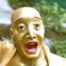 Hong Kong: op de foto met 'macho' buddha