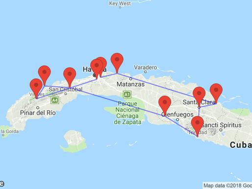 Cuba: reisplan drie weken
