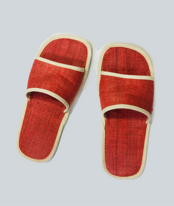 Red hemp sandals.png