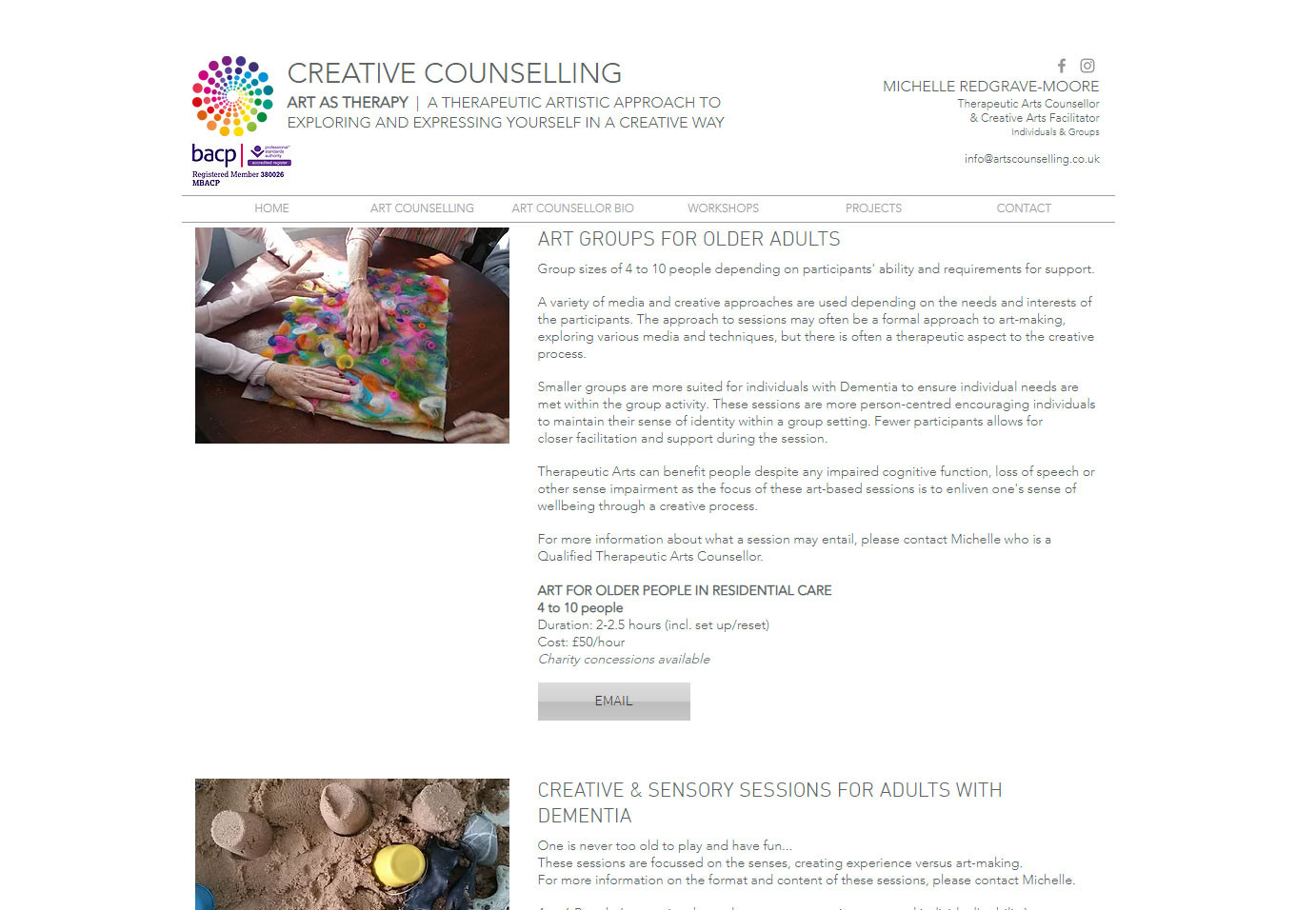 CREATIVE COUNSELLING