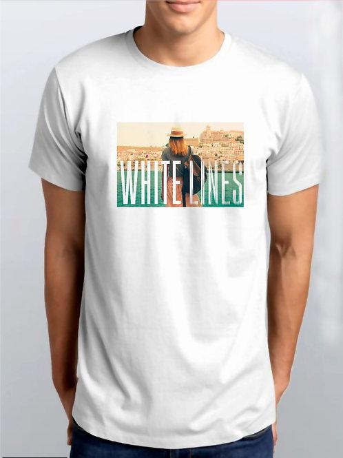 Camiseta Branca / White Lines Oficial Netflix / Íris