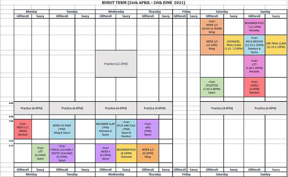 Timetable 26th April 2021.JPG