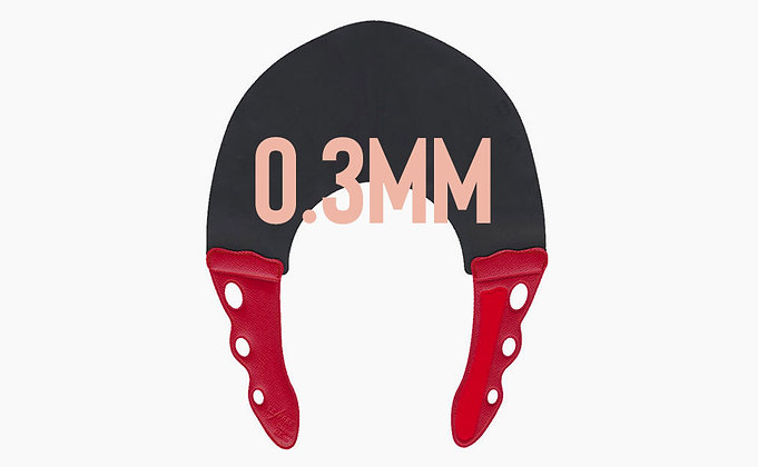YS Park 0.3mm Neck Collar Red