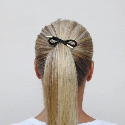 Corinne Hair Tie Bow Plain