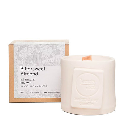 Laouta Bittersweet almond soy candle