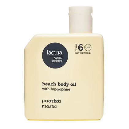 Laouta MASTIC beach body oil with hippophae