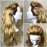 Natural Hairline Custom Wigs - Blonde Hi