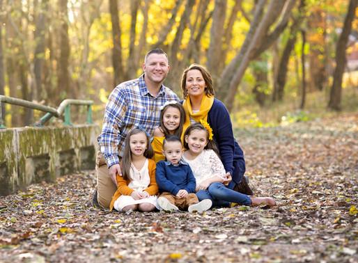 The O. Family -  Clarksville Family Photographer