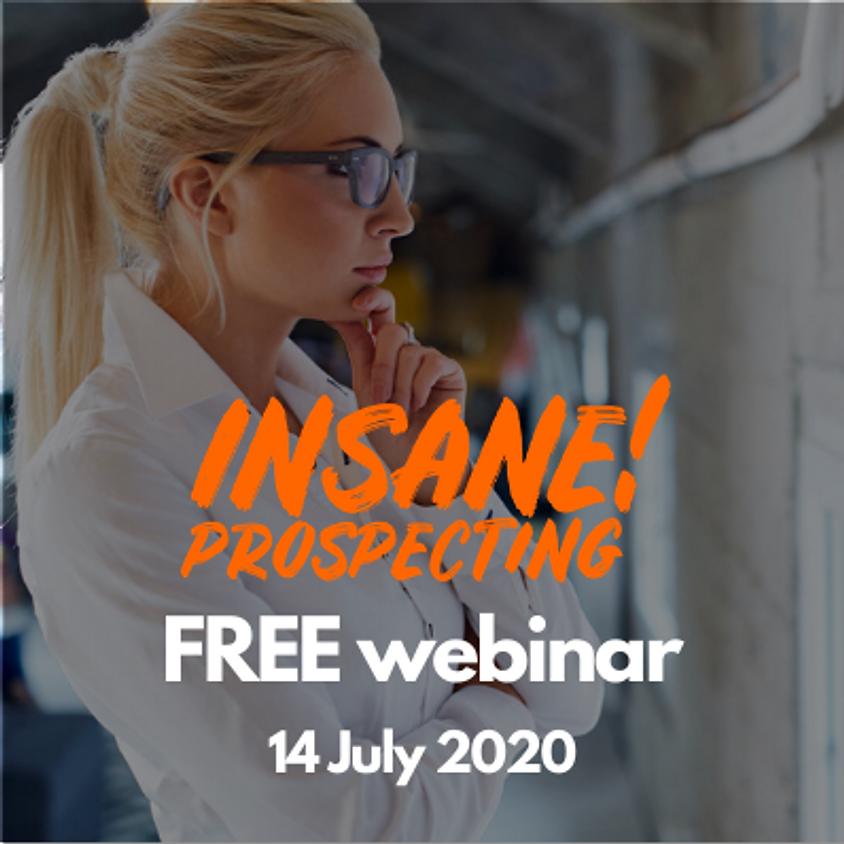 FREE Prospecting Webinar for Financial Advisors - 14 July 2020