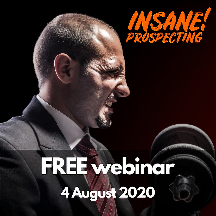 Weekly Prospecting Webinar for Financial Advisors - 4 August 2020