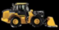 Track building loader tractor