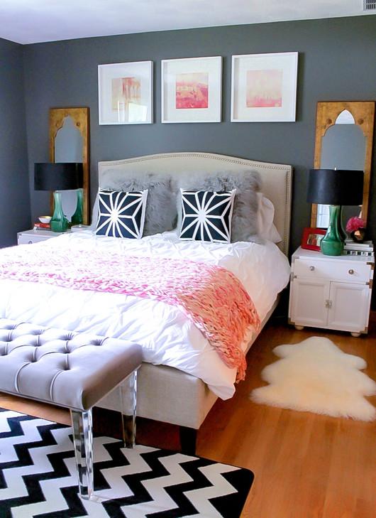 Connecticut Bachelorette Master Bedroom