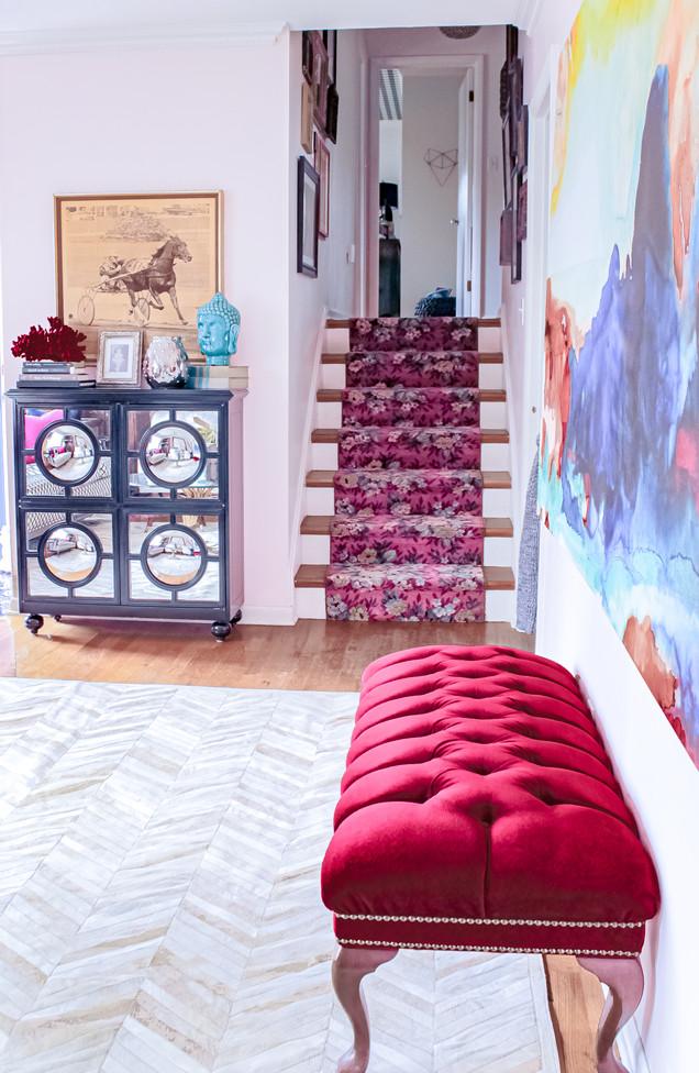 Nichole Loiacono Design, Ovelrand Park, KS, Interior Designer, Stairway