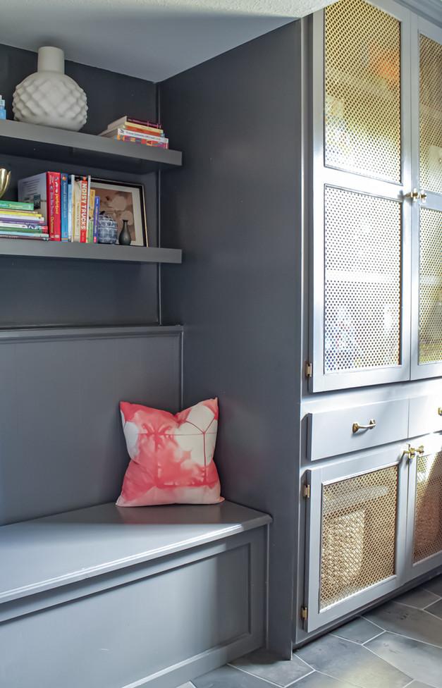 Nichole Loiacono Design, Overland Park, KS, Interior Designer, Family Room, Custom Cabinet