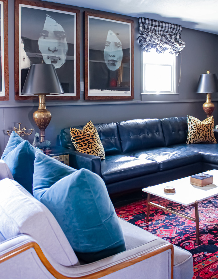 Nichole Loiacono Design, Overland Park, KS, Interior Designer, Family Room