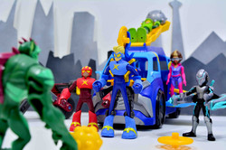 Stretch Arm Strong Flex Fighters