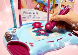 Frozen Glitter Sticker Studio