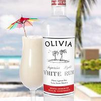 Personalised White Rum    £34.99