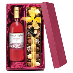 Personalised Alcohol with Chocolates