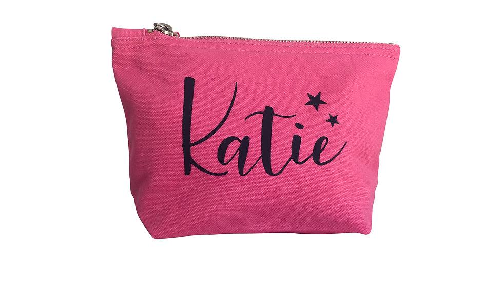 Small Pink Beauty Bag