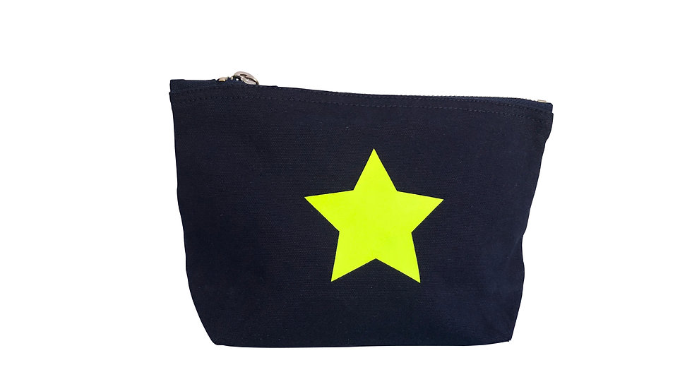 Small Navy Beauty Bag
