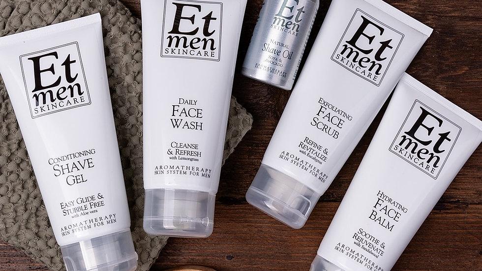 ET Men Skincare Kit with Shave Gel