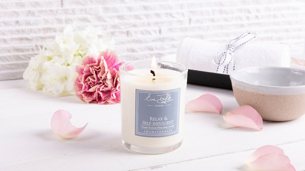 Eve Taylor Relax and Self Indulgent Massage Candle