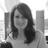 Black and white photo of Teri Queen
