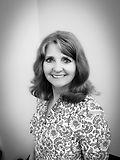 Black and white photo Carol Moffitt