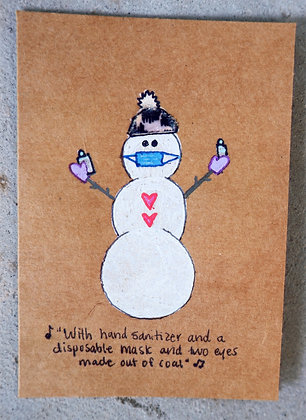 Card: Frosty in a Pandemic