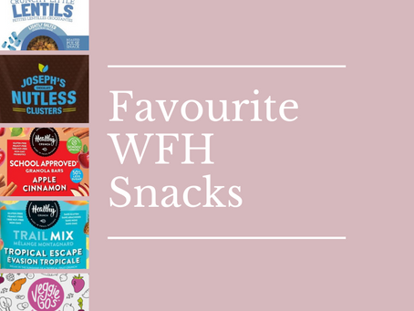 Favourite Pre-Packaged Work From Home Desk Snacks