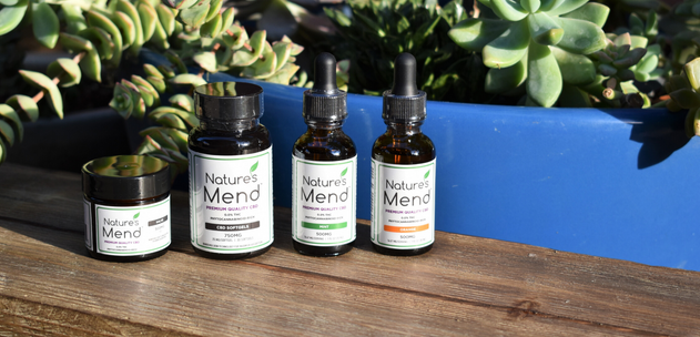 Nature's Mend CBD Products