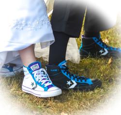 Sneakers Ashely's Wedding