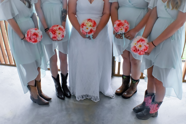 Angelina's & Bridesmaides1