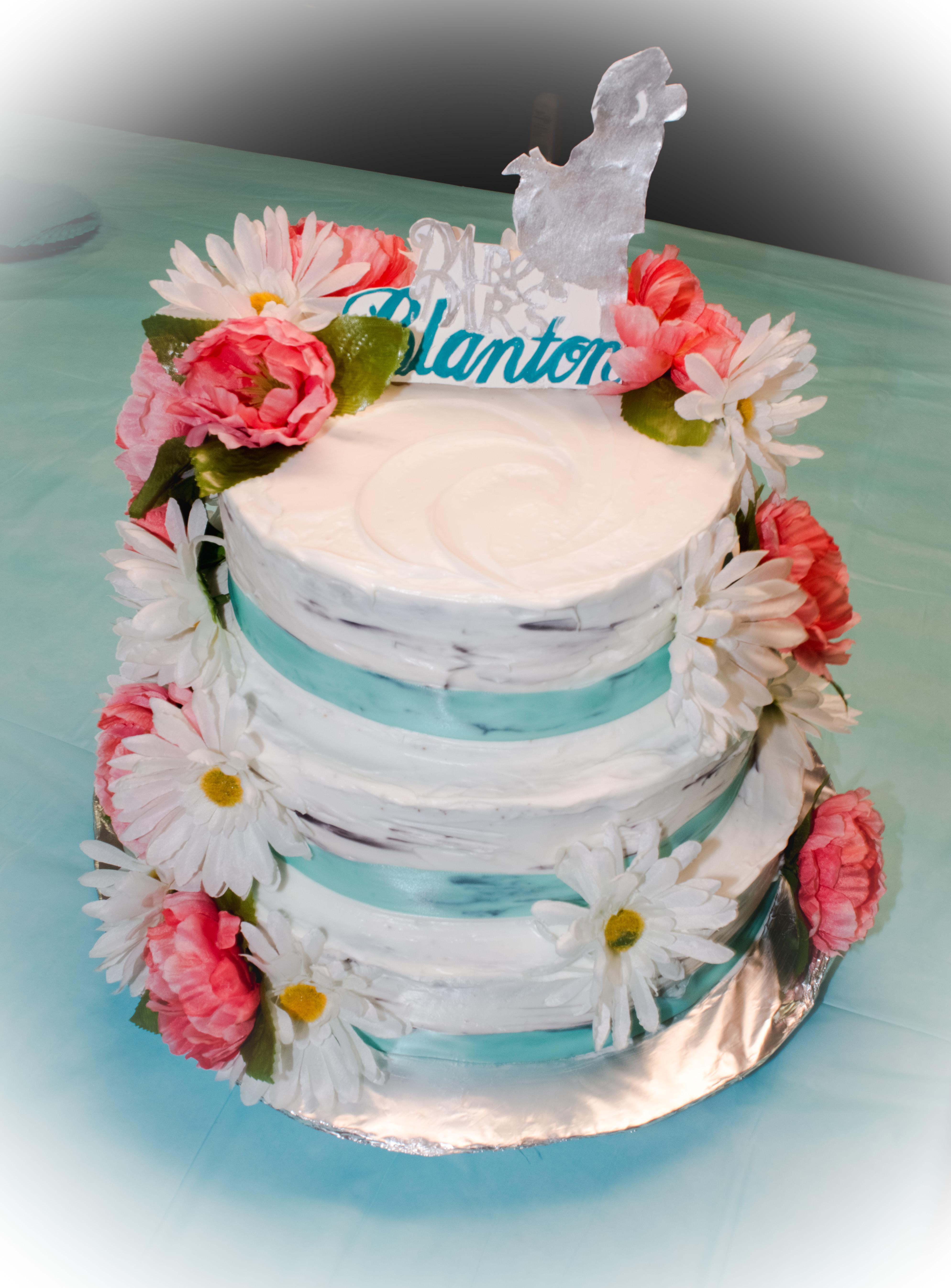 Angelina's Wedding Cake 1