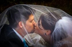 Ashley's Wedding Kissing