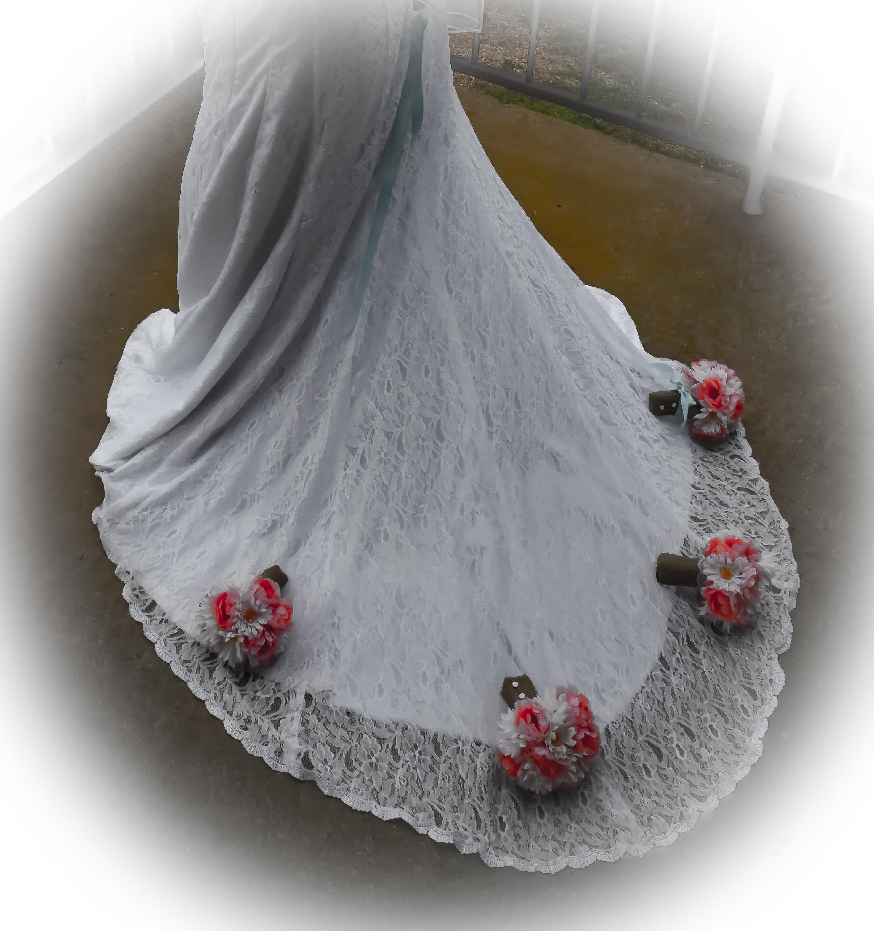Angelina's Wedding Dress Bouquets