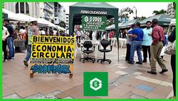 Expo feria de Reciclaje, parque Juan Montalvo, Machala 2019