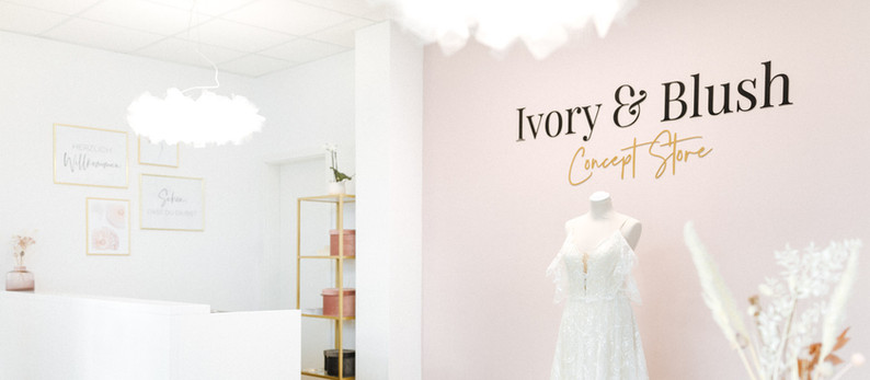Unser Bridal Concept Store Ivory & Blush