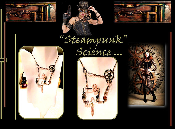 steampunk,Necklace, jewelry,Steampunk wedding, necklace,Clock,Steampunk