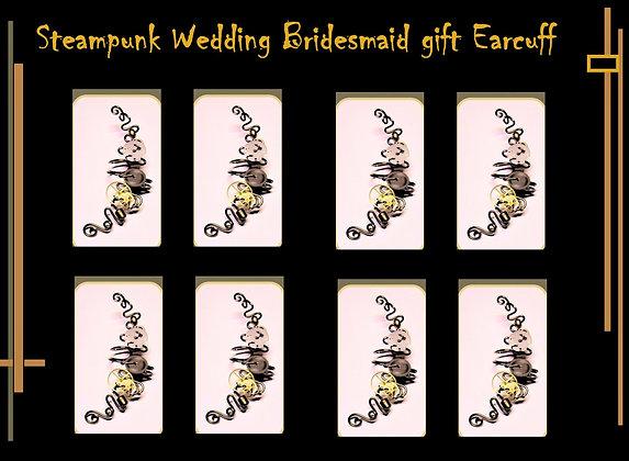 briadsmaid, gift, steampunk,Steampunk wedding, necklace,Clock,Steampunk F