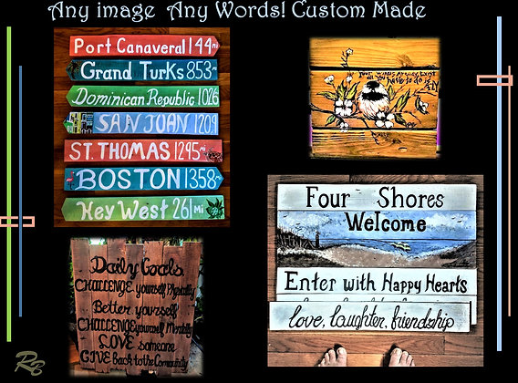beach sign, Destination sign, custom sign,wood,,Wood Anniversary gift,wood