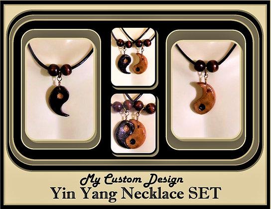 yin yang necklace set,boyfriend gift,girlfriend gift,couples Jewelry