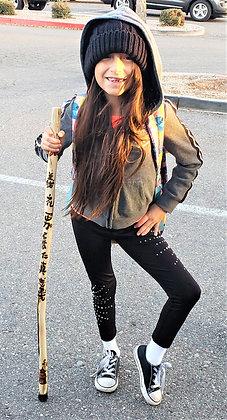child hiking stick, child walking stick, custom